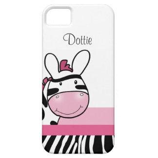 Pink Zebra Print iPhone 5 Casemate Case