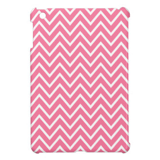 Pink zigzag chevron pattern trendy iPad mini covers
