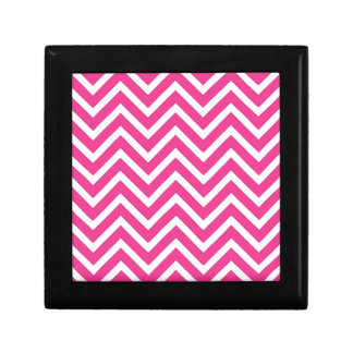 Pink Zigzag pattern Gift Box