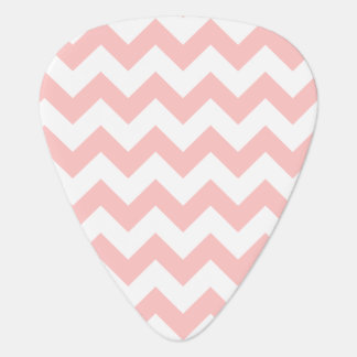 Pink Zigzag Stripes Chevron Pattern Girly Plectrum