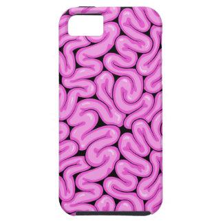 Pink Zombie Brain - Halloween Apocalypse Print iPhone 5 Case