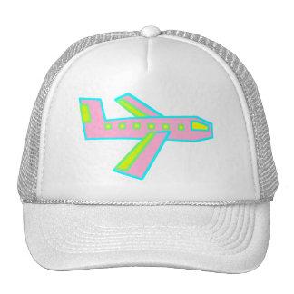 Pink Zooper Plane Hats