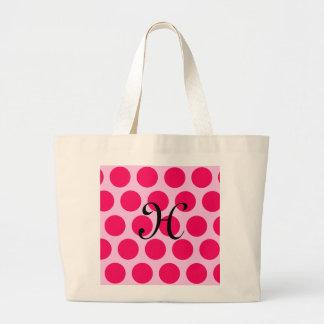 Pinkalicious Dots Jumbo Tote Bag