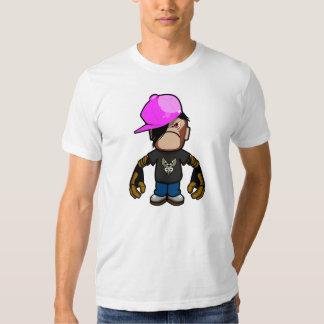 Pinkapple boy in monkey costume (robotic version) t-shirt