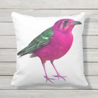 PinkBirdz Indoor/Outdoor Throw Pillow