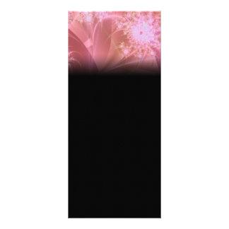 Pinkee Fractal Artwork Rack Card Template