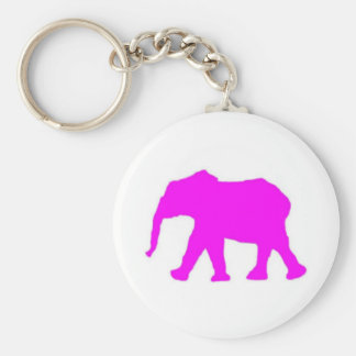 Pinkie the Elephant Key Chain