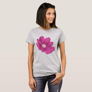 Pinkish Blooming Flower T-Shirt
