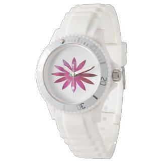 Pinkish Eye Flower Watch