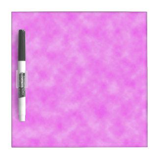 Pinkish Purple Cloudy Look Design Dry Erase Board