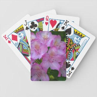 Pinkish purple Rhododendron Catawbiense Poker Deck