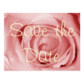 pinkish Save the Date Post Cards