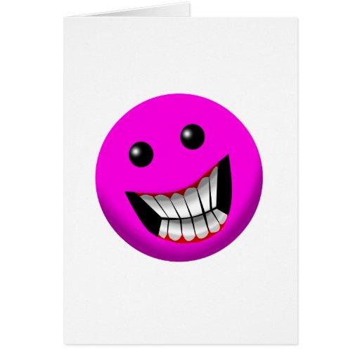 pinkish smile cards
