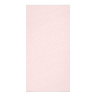 Pinkish striped pattern special gift picture card