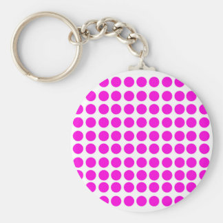 pinkpoka collections basic round button key ring