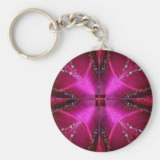PinkRose Petal Ark - Illuminated Sparkle Keychains