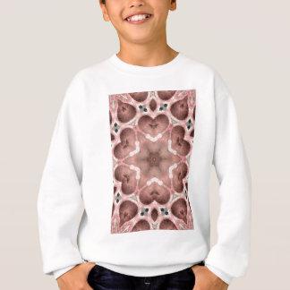 pinks kaleidoscope sweatshirt