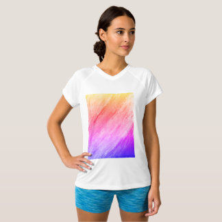 PinkWomen's Champion Double-Dry V-Neck T-Shirt