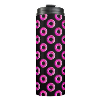 Pinky Donut with colorful sprinkles + your ideas Thermal Tumbler
