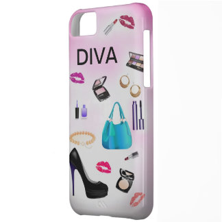 Pinky Girly fashion iphone5 case Cover For iPhone 5C
