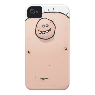 Pinky Monster Weirdo Cartoon Character iPhone 4 Cases