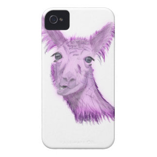 Pinky Posh Llama iPhone 4 Case-Mate Case