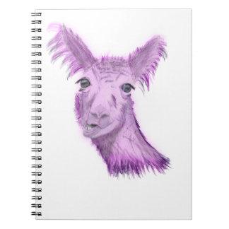 Pinky Posh Llama Notebooks