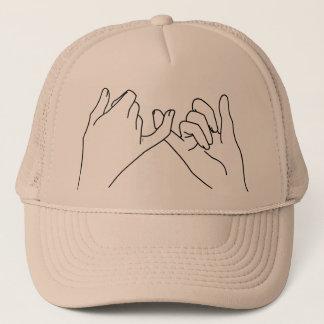 pinky promise trucker hat