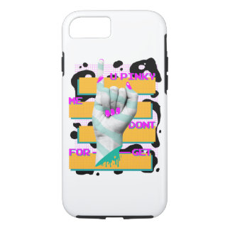 PINKY SWEAR KEEP YOUR PROMISE APPLE PHONE CASE 8/7