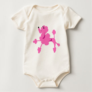 Pinky The Poodle Baby Bodysuit