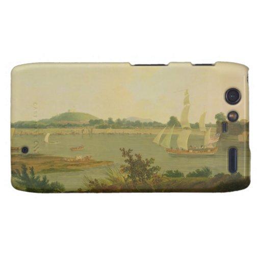 Pinnace Sailing Down the Ganges past Monghyr Fort, Motorola Droid RAZR Covers