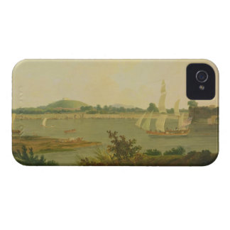 Pinnace Sailing Down the Ganges past Monghyr Fort, iPhone 4 Case-Mate Cases