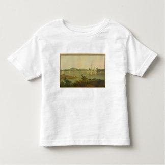 Pinnace Sailing Down the Ganges past Monghyr Fort, Toddler T-Shirt