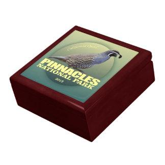 Pinnacles NP (California Quail) WT Gift Box