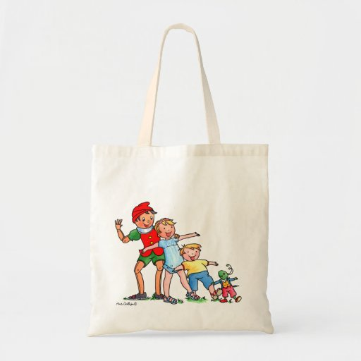 Pinocchio and Friends Bag