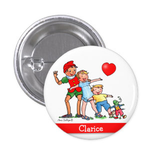 Pinocchio and Friends  -  Button