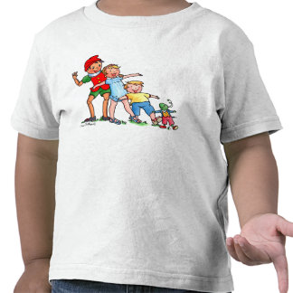 Pinocchio and Friends - Kids T-shirt