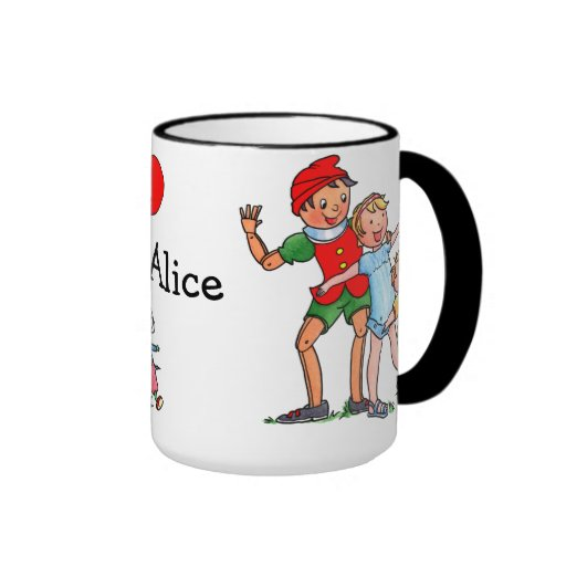 Pinocchio and Friends Love Mug