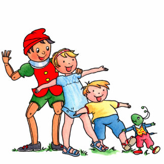 Pinocchio and Friends - Photo Sculpture Cutout