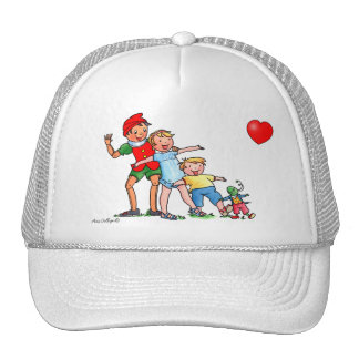 Pinocchio and Friends with Heart - Cap Hat