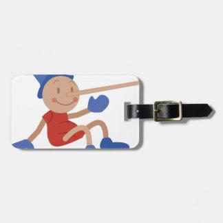 Pinocchio Bag Tag