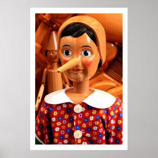 Pinocchio Collectible Poster