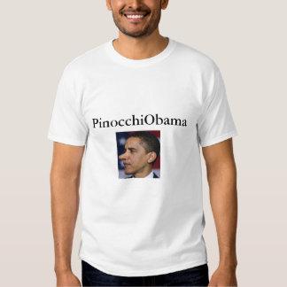 Pinocchio Obama 4 Shirts