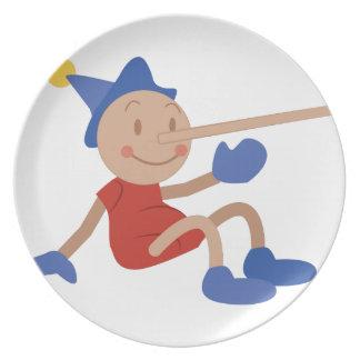Pinocchio Plate