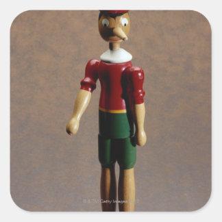Pinocchio Square Sticker