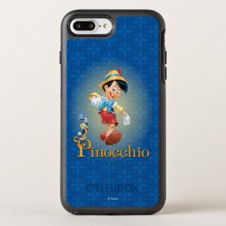 Pinocchio with Jiminy Cricket OtterBox Symmetry iPhone 8 Plus/7 Plus Case