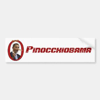 Pinocchiobama Bumper Sticker