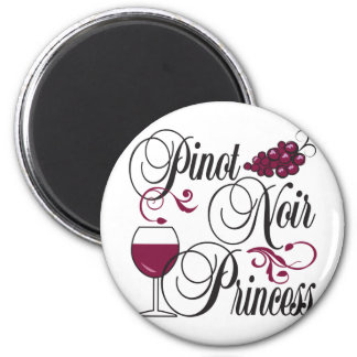 Pinot Noir Princess Fridge Magnet