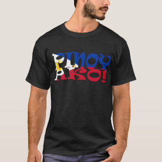 pinoy ako Philippine Flag T-Shirt