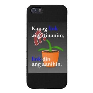 Pinoy funny blogger quotes: Link Building iPhone 5 Cases